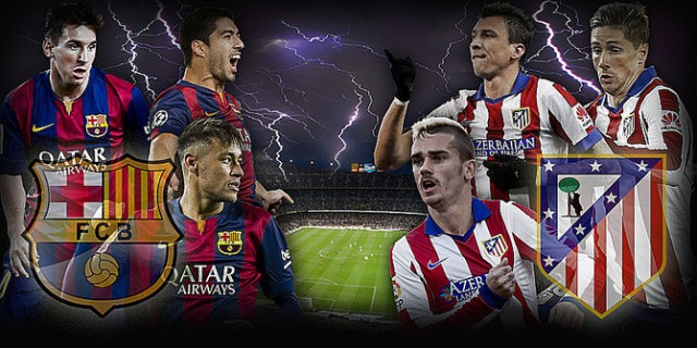 Prediksi Barcelona vs Atletico Madrid 22 September 2016